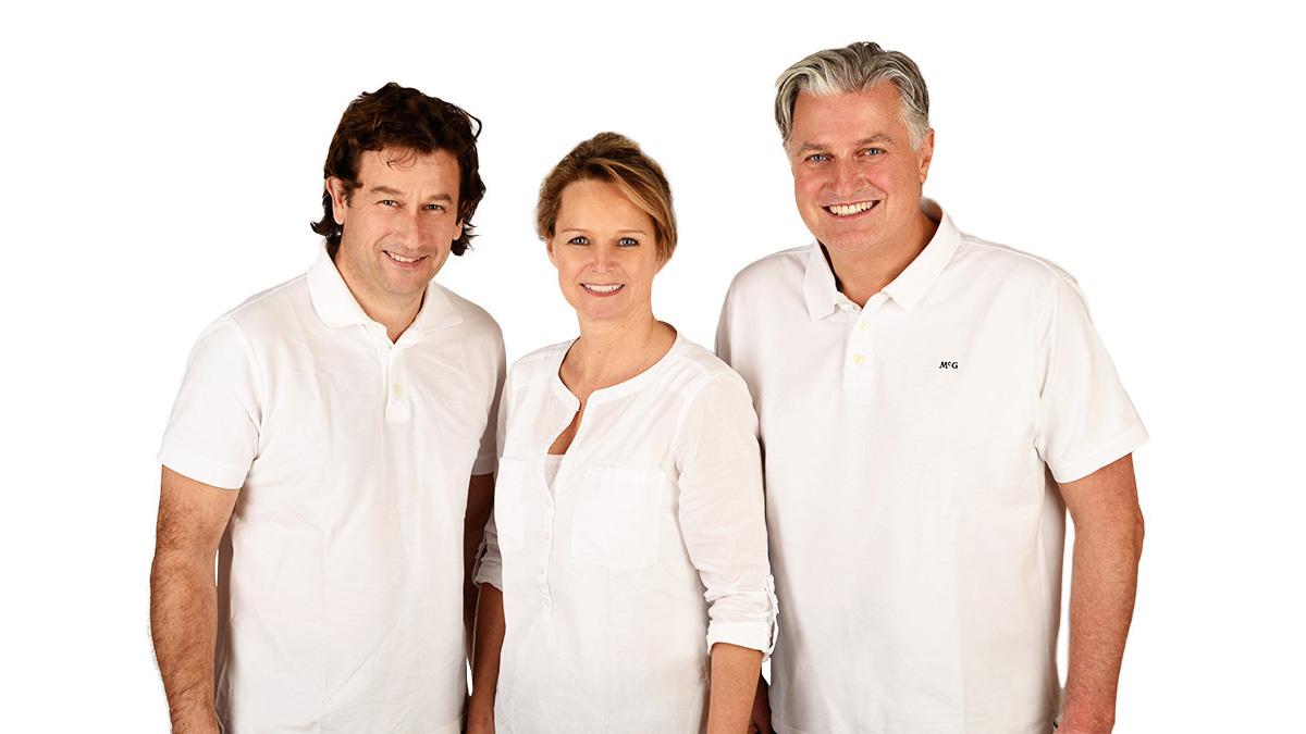Dr. Dr. Veit Zimmermann, Dr. Sabine Husel-Zimmermann, ZA Thomas Meyer